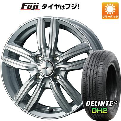 【送料無料】 185/65R14 14インチ WEDS ジョーカー スクリュー 5.5J 5.50-14 DELINTE デリンテ DH2(限定) サマータイヤ ホイール4本セット