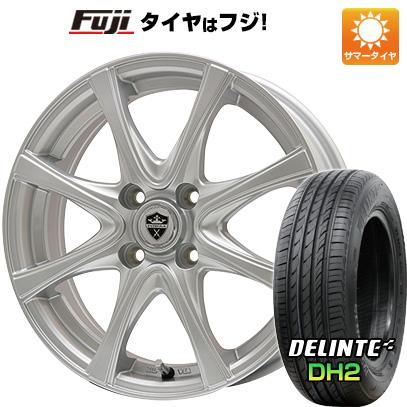 【送料無料】 165/50R15 15インチ BRANDLE ブランドル KF25 4.5J 4.50-15 DELINTE デリンテ DH2(限定) サマータイヤ ホイール4本セット