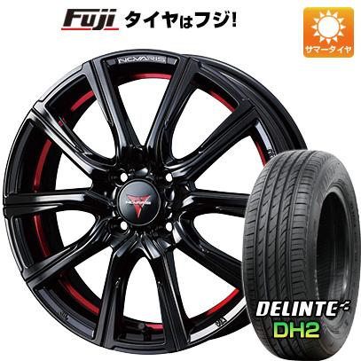 【送料無料】 205/50R16 16インチ WEDS ノヴァリス ローグ CB 6J 6.00-16 DELINTE デリンテ DH2(限定) サマータイヤ ホイール4本セット