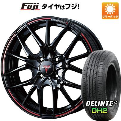 【送料無料】 205/50R16 16インチ WEDS ノヴァリス ローグ SH 6J 6.00-16 DELINTE デリンテ DH2(限定) サマータイヤ ホイール4本セット