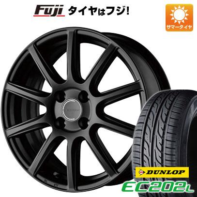 タイヤはフジ 送料無料 BRIDGESTONE ブリヂストン エコフォルム CRS/131 5.5J 5.50-15 DUNLOP EC202L 185/65R15 15インチ サマータイヤ ホイール4本セット