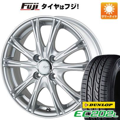 タイヤはフジ 送料無料 5ZIGEN ゴジゲン リーガレスα EX 4J 4.00-13 DUNLOP EC202L 155/65R13 13インチ サマータイヤ ホイール4本セット