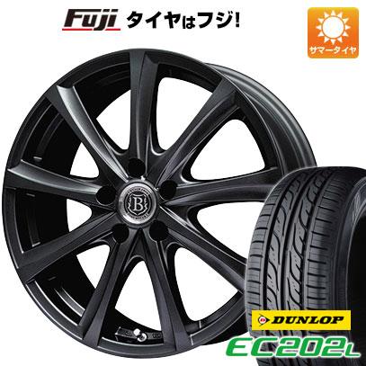 タイヤはフジ 送料無料 BRANDLE-LINE ブランドルライン アヴェルサ 9Z 6.5J 6.50-16 DUNLOP EC202L 205/60R16 16インチ サマータイヤ ホイール4本セット