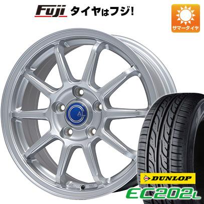 タイヤはフジ 送料無料 BRANDLE ブランドル M60 6J 6.00-16 DUNLOP EC202L 205/55R16 16インチ サマータイヤ ホイール4本セット