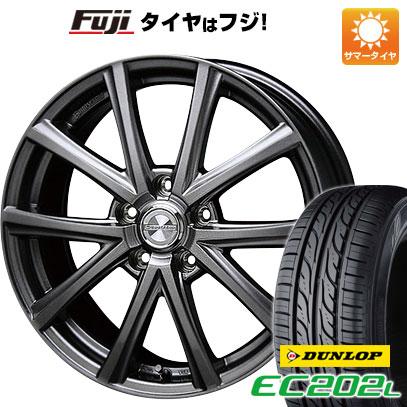 タイヤはフジ 送料無料 BLEST ブレスト ユーロマジック アスパイアFX限定 6.5J 6.50-16 DUNLOP EC202L 205/60R16 16インチ サマータイヤ ホイール4本セット