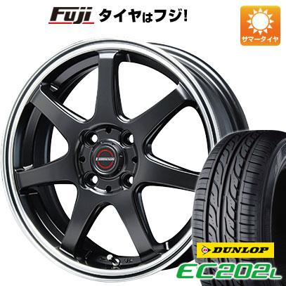タイヤはフジ 送料無料 BLEST ブレスト ユーロマジック タイプS-07 4.5J 4.50-14 DUNLOP EC202L 155/65R14 14インチ サマータイヤ ホイール4本セット