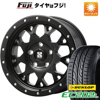 タイヤはフジ 送料無料 ソリオ(MA26S) MLJ エクストリームJ XJ04 4.5J 4.50-14 DUNLOP EC202L 165/70R14 14インチ サマータイヤ ホイール4本セット