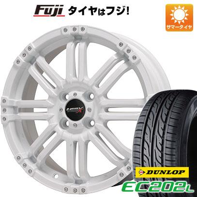 タイヤはフジ 送料無料 BIGWAY ビッグウエイ B-MUD X(ホワイト) 5.5J 5.50-16 DUNLOP EC202L 175/60R16 16インチ サマータイヤ ホイール4本セット