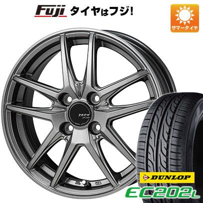 【送料無料】 175/70R14 14インチ MONZA ZACK JP-550 5.5J 5.50-14 DUNLOP ダンロップ EC202L サマータイヤ ホイール4本セット