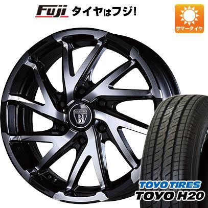 タイヤはフジ 送料無料 NV350キャラバン CRIMSON クリムソン バルベロ ダイナミック ツイスト 6.5J 6.50-18 TOYO H20 ブラックレター 225/50R18 18インチ サマータイヤ ホイール4本セット