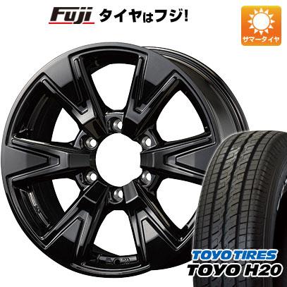 タイヤはフジ 送料無料 ハイエース200系 KOSEI コーセイ ベアロック DD 6.5J 6.50-16 TOYO H20 NEWホワイトレター 215/65R16 16インチ サマータイヤ ホイール4本セット