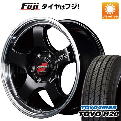 タイヤはフジ 送料無料 ハイエース200系 MID RMP レーシング R05HC 8J 8.00-18 TOYO H20 ブラックレター 225/50R18 18インチ サマータイヤ ホイール4本セット