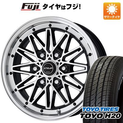 タイヤはフジ 送料無料 ハイエース200系 WORK ワーク XTRAP 03HC 6.5J 6.50-17 TOYO H20 NEWホワイトレター 215/60R17 17インチ サマータイヤ ホイール4本セット