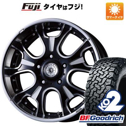 タイヤはフジ 送料無料 CRIMSON ゴールドマンクルーズ ヘラクレスモノブロックF/A 8.5J 8.50-20 BFG BFグッドリッチ オールテレーンT/A KO2 RBL 275/55R20 20インチ サマータイヤ ホイール4本セット