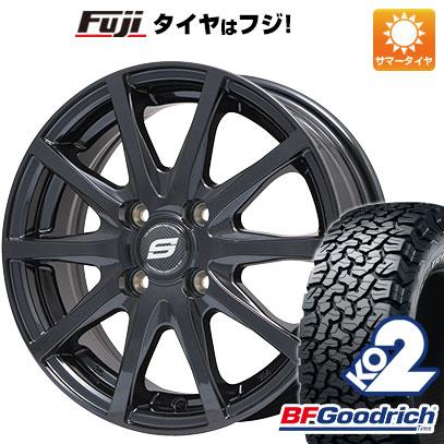 タイヤはフジ 送料無料 BRANDLE ブランドル M71B 6.5J 6.50-16 BFG BFグッドリッチ オールテレーンT/A KO2 RBL 215/65R16 16インチ サマータイヤ ホイール4本セット