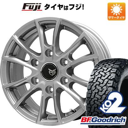 タイヤはフジ 送料無料 BRANDLE ブランドル 775 8J 8.00-17 BFG BFグッドリッチ オールテレーンT/A KO2 RWL/RBL 265/70R17 17インチ サマータイヤ ホイール4本セット