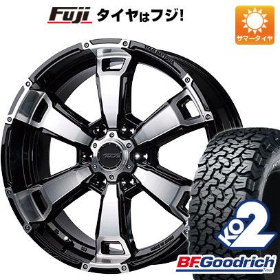 タイヤはフジ 送料無料 RAYS レイズ デイトナ FDX G6 8.5J 8.50-20 BFG BFグッドリッチ オールテレーンT/A KO2 RBL 285/55R20 20インチ サマータイヤ ホイール4本セット