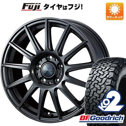 タイヤはフジ 送料無料 WEDS ウェッズ ヴェルバ イゴール 6.5J 6.50-16 BFG BFグッドリッチ オールテレーンT/A KO2 RBL 215/65R16 16インチ サマータイヤ ホイール4本セット