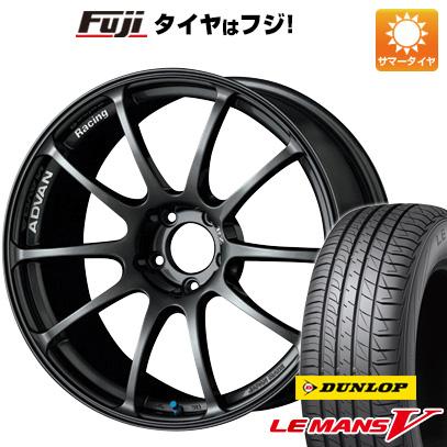 【送料無料】 225/40R18 18インチ YOKOHAMA アドバンレーシング RZ 7.5J 7.50-18 DUNLOP ダンロップ ルマン V(ファイブ) サマータイヤ ホイール4本セット