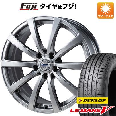 タイヤはフジ 送料無料 MONZA モンツァ ZACK JP-110 10スポーク 6J 6.00-15 DUNLOP ルマン V(ファイブ) 195/65R15 15インチ サマータイヤ ホイール4本セット
