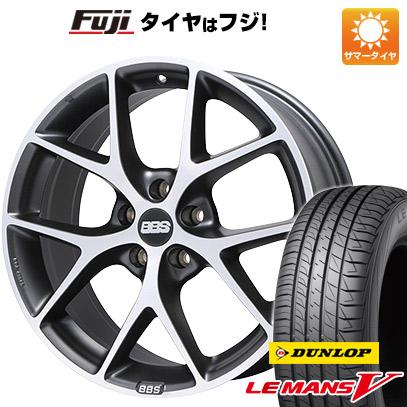 タイヤはフジ 送料無料 BBS GERMANY BBS SR 7.5J 7.50-17 DUNLOP ルマン V(ファイブ) 215/50R17 17インチ サマータイヤ ホイール4本セット