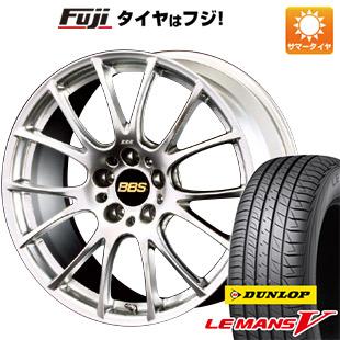 タイヤはフジ 送料無料 BBS JAPAN BBS RE-V 8.5J 8.50-19 DUNLOP ルマン V(ファイブ) 235/40R19 19インチ サマータイヤ ホイール4本セット
