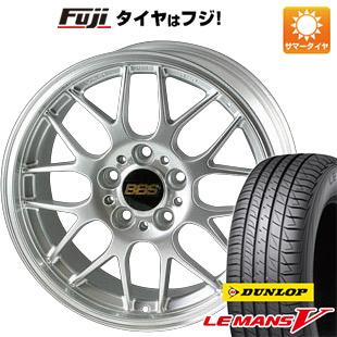 タイヤはフジ 送料無料 BBS JAPAN BBS RG-R 8J 8.00-19 DUNLOP ルマン V(ファイブ) 225/40R19 19インチ サマータイヤ ホイール4本セット