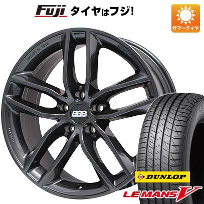 タイヤはフジ 送料無料 BBS GERMANY BBS SX 7.5J 7.50-17 DUNLOP ルマン V(ファイブ) 215/50R17 17インチ サマータイヤ ホイール4本セット