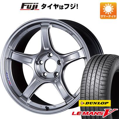 【送料無料】 215/50R18 18インチ SSR GTX03 7.5J 7.50-18 DUNLOP ダンロップ ルマン V(ファイブ) サマータイヤ ホイール4本セット
