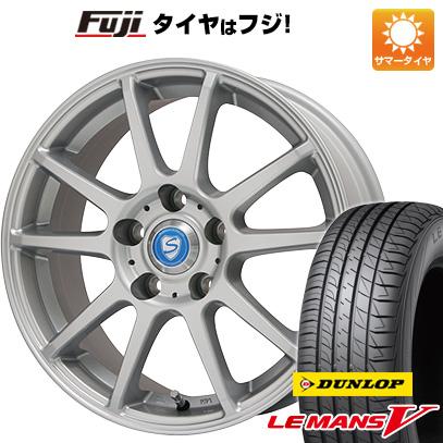 タイヤはフジ 送料無料 BRANDLE ブランドル 302 6.5J 6.50-16 DUNLOP ルマン V(ファイブ) 205/60R16 16インチ サマータイヤ ホイール4本セット