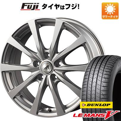 タイヤはフジ 送料無料 INTER MILANO インターミラノ AZ-SPORTS EX-10 6J 6.00-15 DUNLOP ルマン V(ファイブ) 195/65R15 15インチ サマータイヤ ホイール4本セット
