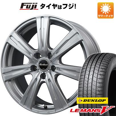 タイヤはフジ 送料無料 MID ユーロスピード C-07 6J 6.00-15 DUNLOP ルマン V(ファイブ) 195/65R15 15インチ サマータイヤ ホイール4本セット