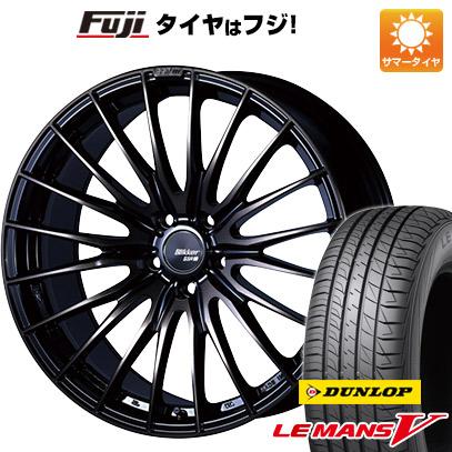 男女兼用 タイヤはフジ 送料無料 SSR ブリッカー 01F 8J 8.00-19 DUNLOP ルマン V(ファイブ) 215/35R19 19インチ サマータイヤ ホイール4本セット, エスディーパーク 3bdc7434