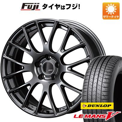 【送料無料】 215/50R18 18インチ SSR GTV04 7.5J 7.50-18 DUNLOP ダンロップ ルマン V(ファイブ) サマータイヤ ホイール4本セット