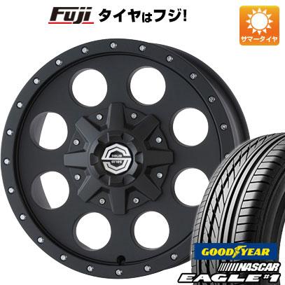 タイヤはフジ 送料無料 ハイエース200系 SOLID RACING ソリッドレーシング Iメタル X 6.5J 6.50-16 GOODYEAR EAGLE 1 NASCAR LT(限定) 215/65R16 16インチ サマータイヤ ホイール4本セット