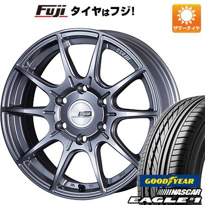 タイヤはフジ 送料無料 ハイエース200系 SSR ディバイド X01H 6.5J 6.50-16 GOODYEAR EAGLE 1 NASCAR LT(限定) 215/65R16 16インチ サマータイヤ ホイール4本セット