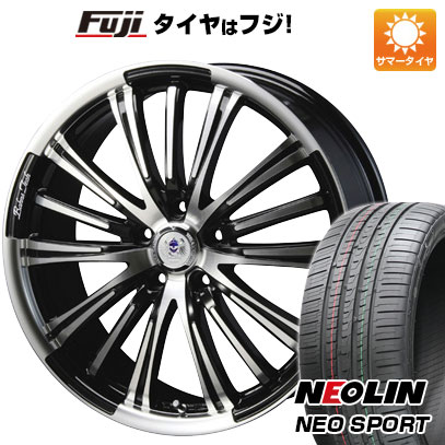 タイヤはフジ 送料無料 BLEST ブレスト バーンズテック VR-01 7.5J 7.50-19 NEOLIN ネオリン ネオスポーツ(限定) 225/35R19 19インチ サマータイヤ ホイール4本セット
