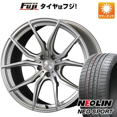 タイヤはフジ 送料無料 RAYS レイズ グラムライツ 57FXX 8.5J 8.50-19 NEOLIN ネオリン ネオスポーツ(限定) 245/45R19 19インチ サマータイヤ ホイール4本セット