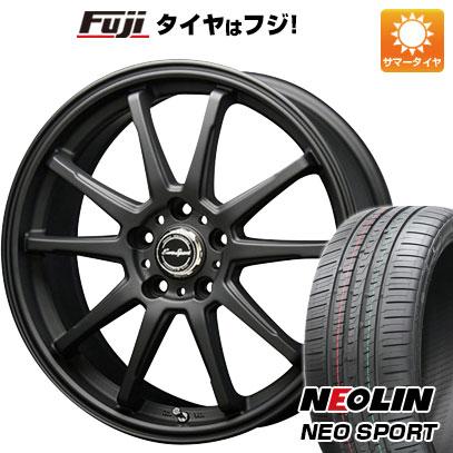 タイヤはフジ 送料無料 BLEST ブレスト ユーロスポーツ タイプSS-01 7J 7.00-18 NEOLIN ネオリン ネオスポーツ(限定) 215/40R18 18インチ サマータイヤ ホイール4本セット