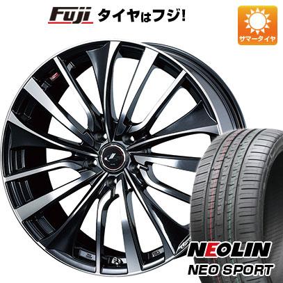 タイヤはフジ 送料無料 WEDS ウェッズ レオニス VT 8.5J 8.50-20 NEOLIN ネオリン ネオスポーツ(限定) 245/35R20 20インチ サマータイヤ ホイール4本セット