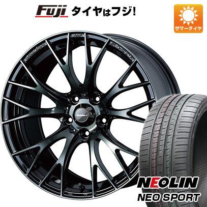 タイヤはフジ 送料無料 WEDS ウェッズスポーツ SA-20R 7J 7.00-17 NEOLIN ネオリン ネオスポーツ(限定) 215/45R17 17インチ サマータイヤ ホイール4本セット
