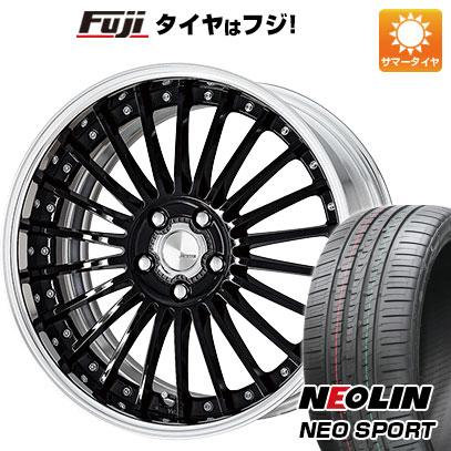 タイヤはフジ 送料無料 WORK ワーク ランベック LF1 8.5J 8.50-20 NEOLIN ネオリン ネオスポーツ(限定) 225/35R20 20インチ サマータイヤ ホイール4本セット