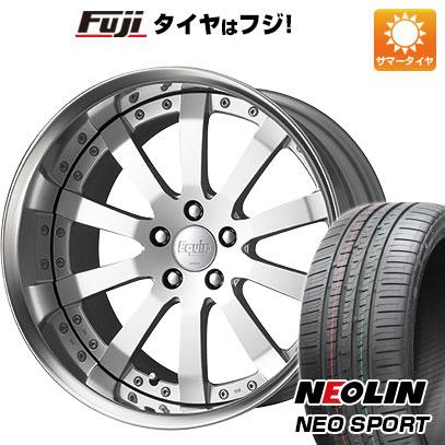 気質アップ タイヤはフジ エクイップ 送料無料 WORK ワーク エクイップ E10 8.5J 8.50-20 8.5J NEOLIN ネオリン ネオリン ネオスポーツ(限定) 225/35R20 20インチ サマータイヤ ホイール4本セット, ジョウトウク:13a74233 --- arg-serv.ru