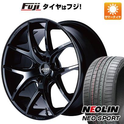 タイヤはフジ 送料無料 M-TECHNO エムテクノ M.T.S. SSL5 8.5J 8.50-20 NEOLIN ネオリン ネオスポーツ(限定) 245/45R20 20インチ サマータイヤ ホイール4本セット