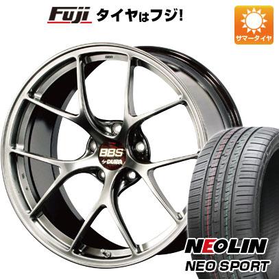 【送料無料】  BBS JAPAN BBS RI-D 8.5J 8.50-19 NEOLIN ネオリン ネオスポーツ(限定) 235/35R19 19インチ サマータイヤ ホイール4本セット