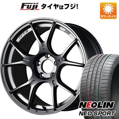 タイヤはフジ 送料無料 SSR GTX02 7J 7.00-17 NEOLIN ネオリン ネオスポーツ(限定) 215/45R17 17インチ サマータイヤ ホイール4本セット