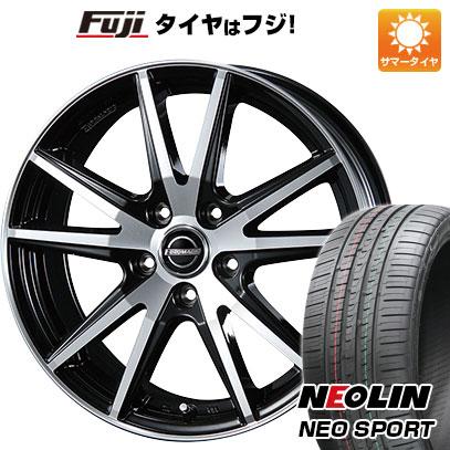 タイヤはフジ 送料無料 BLEST ブレスト ユーロマジック ランスSTP 7J 7.00-17 NEOLIN ネオリン ネオスポーツ(限定) 215/45R17 17インチ サマータイヤ ホイール4本セット