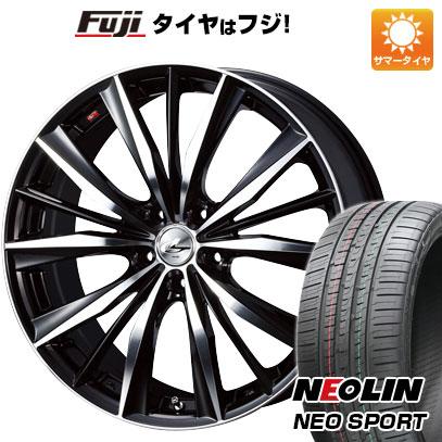 タイヤはフジ 送料無料 WEDS ウェッズ レオニス VX 7J 7.00-17 NEOLIN ネオリン ネオスポーツ(限定) 215/45R17 17インチ サマータイヤ ホイール4本セット