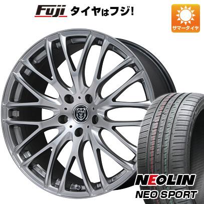 タイヤはフジ 送料無料 PREMIX プレミックス グラッパ(マットクリスタルシルバー) 7.5J 7.50-19 NEOLIN ネオリン ネオスポーツ(限定) 215/35R19 19インチ サマータイヤ ホイール4本セット