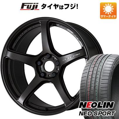 タイヤはフジ 送料無料 WORK ワーク エモーション T5R 8.5J 8.50-19 NEOLIN ネオリン ネオスポーツ(限定) 235/35R19 19インチ サマータイヤ ホイール4本セット